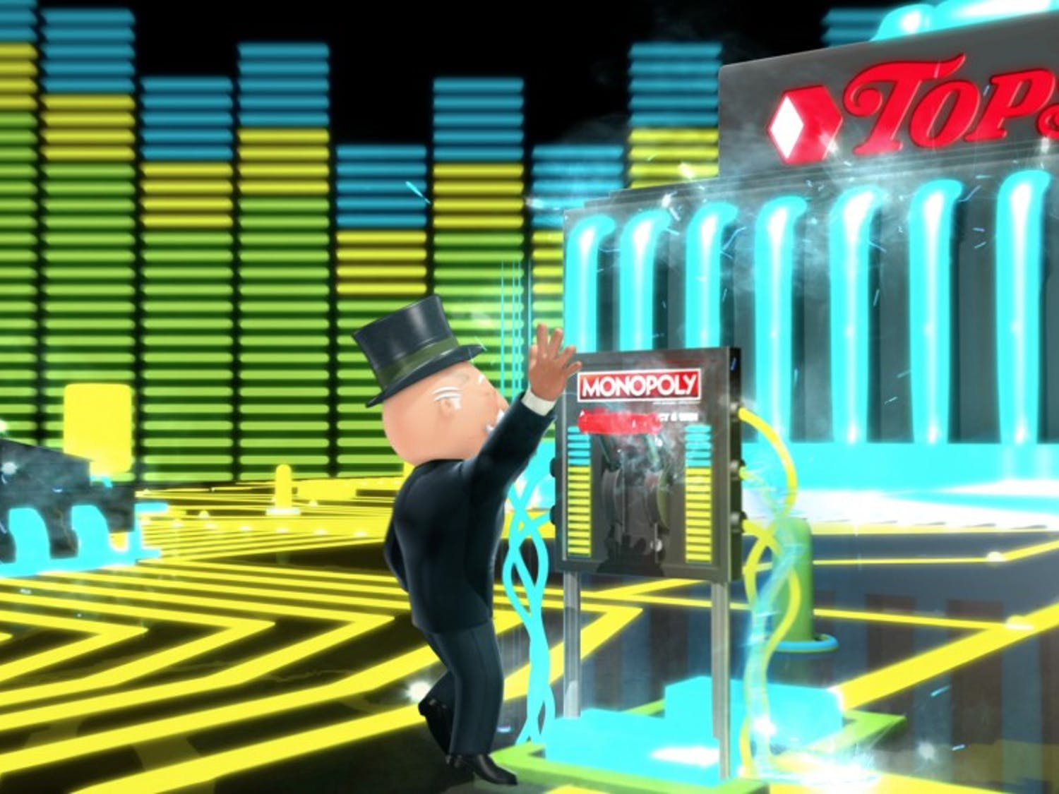 Rebel One Studios has produced the marketing animation for Tops Friendly Market's Monopoly contests.