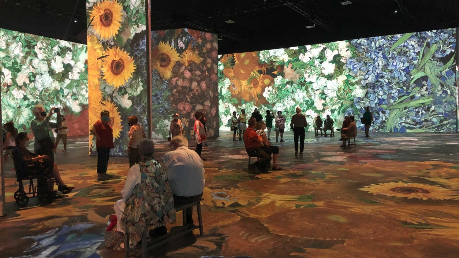 Many visitors said the final section, the Immersive Experience Room, is their favorite exhibit in the gallery.