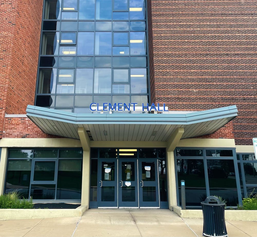 Students who live on campus and test positive for COVID-19 will be quarantined in South Campus' Clement Hall, beginning in October.