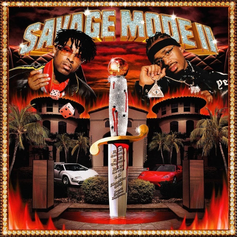 on savage mode 2 21 savage and metro boomin produce their best work yet the spectrum on savage mode 2 21 savage and metro