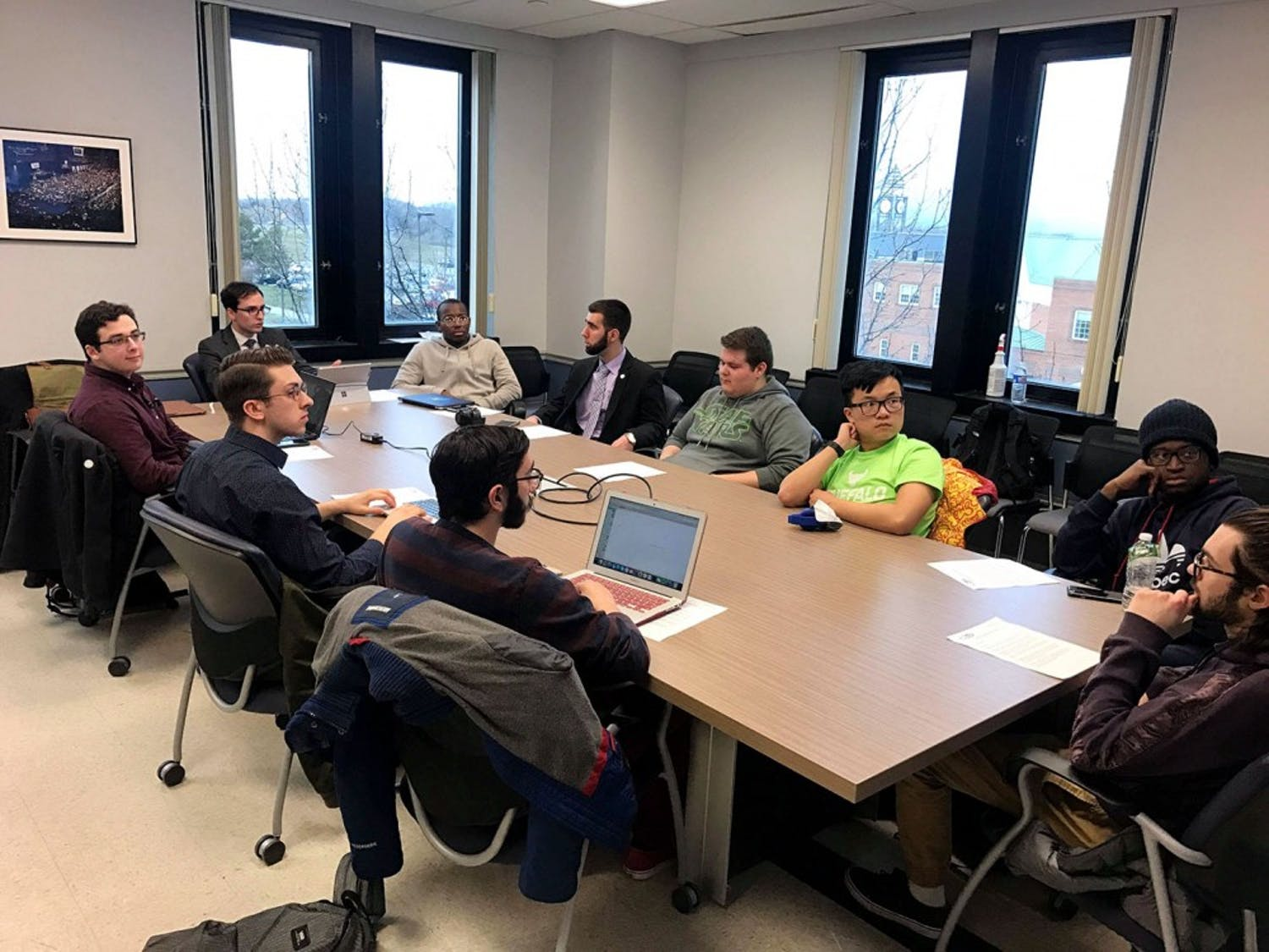 SA held an assembly meeting Thursday night to discuss a new Breathe Free Smoke Policy on campus with hopes President Tripathi will accept their suggested new Breathe Free Smoke Policy and implement it on campus.