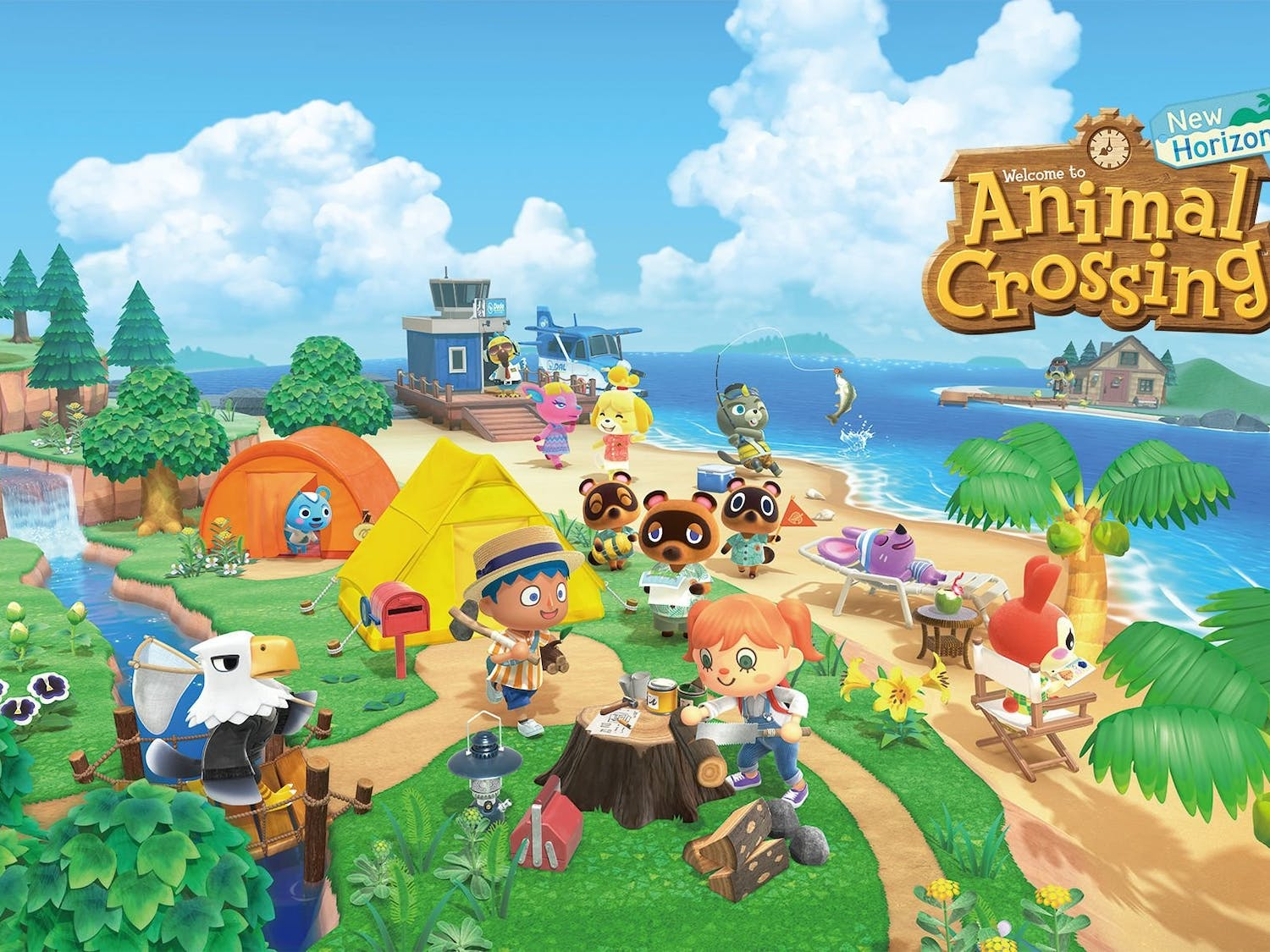 Cover of Animal Crossing: New Horizons