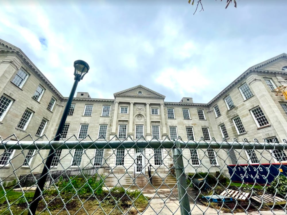 A $28 million renovation of Crosby Hall commenced on Sept. 22 and is expected to be completed by the fall of 2023.