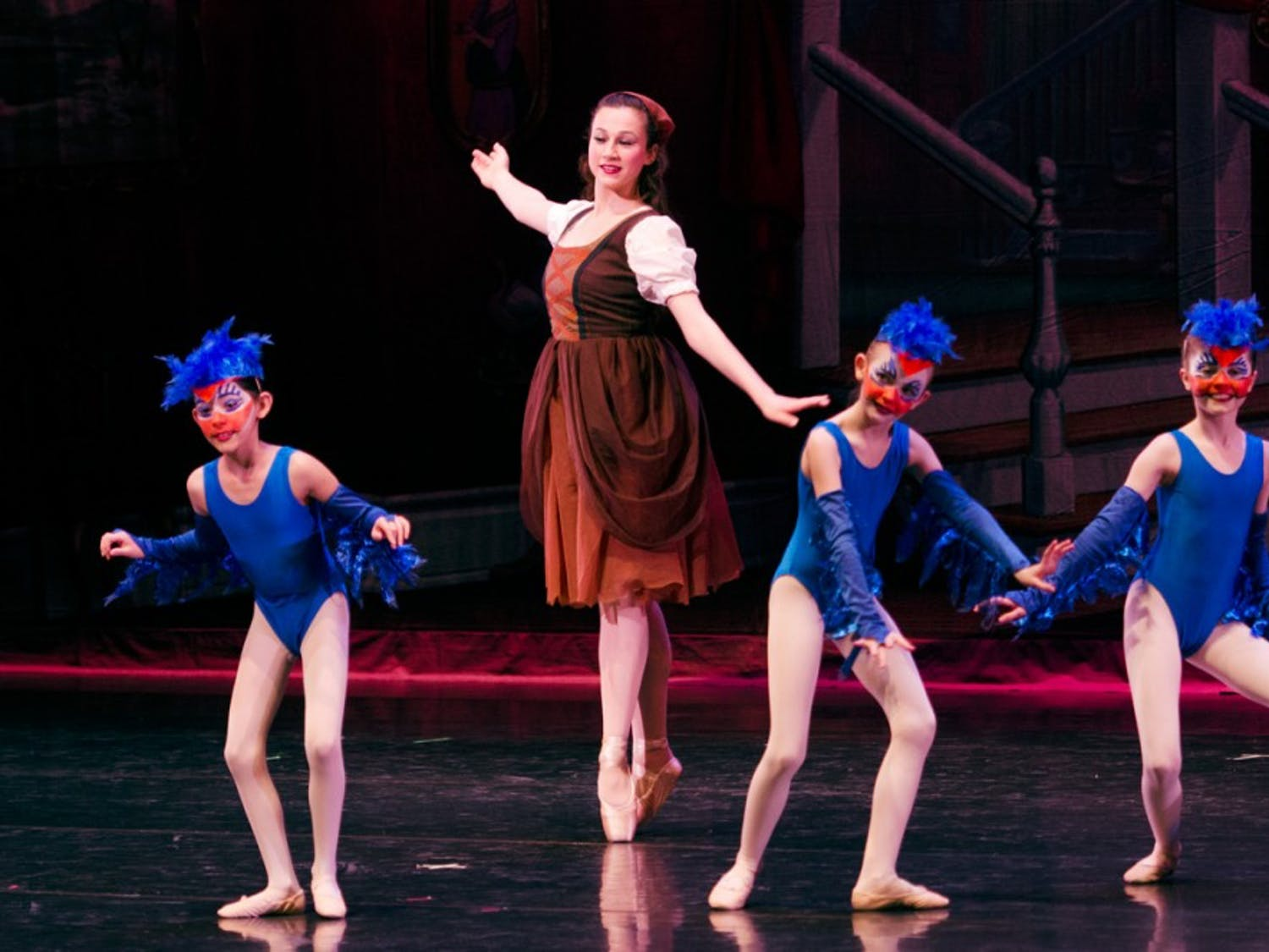 Cinderella performed by Western New York premier youth ballet, the Greater Buffalo Youth Ballet Company, and choreographed by Elizabeth DiStasio-Waddell in UB Center for the Arts on Saturday, March 28.