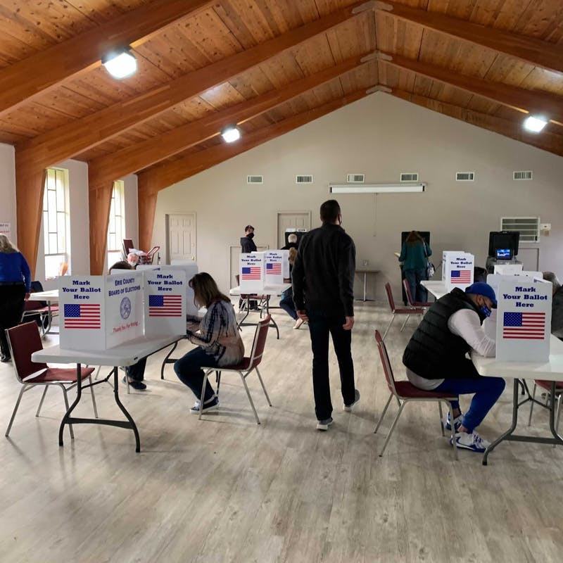 Amherst Baptist Church election day