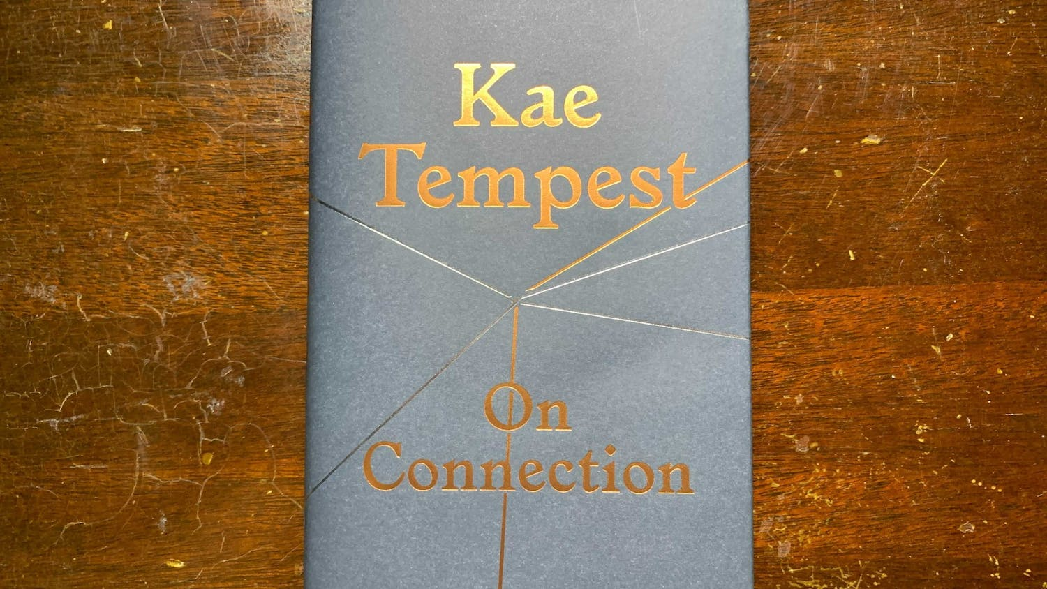 """""""On Connection"""" by Sunday Times-bestselling author Kae Tempest."""