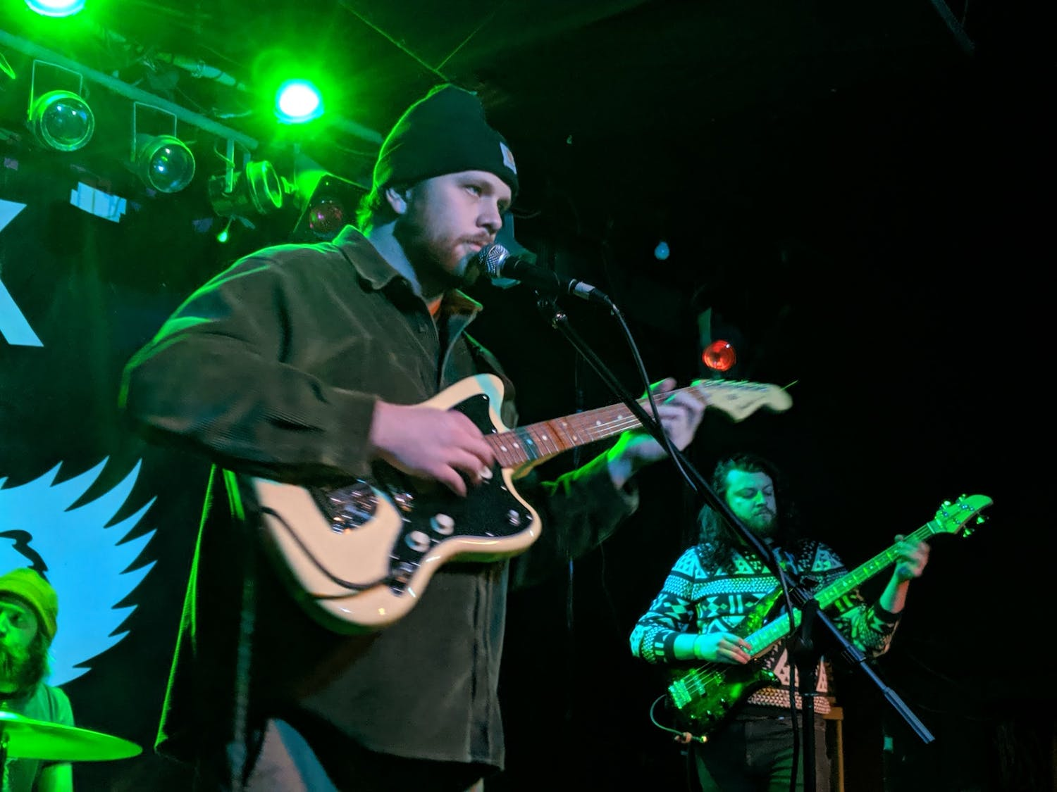 Joe Cardina performs with Dogs in Stereo at Mohawk Place on Friday Nov. 15.
