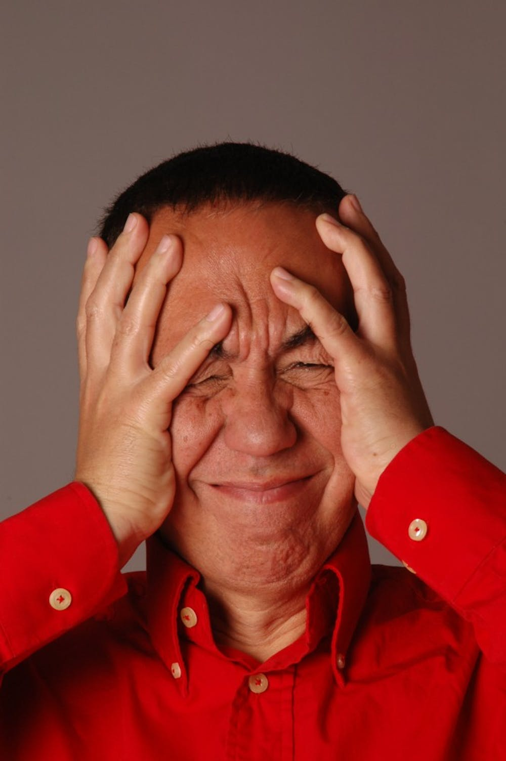 <p>Portraits of comedian Gilbert Gottfried. Gottfried will take the stage at the Helium Comedy Club in November.</p>
