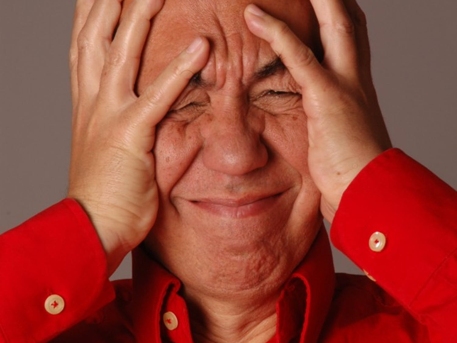 Portraits of comedian Gilbert Gottfried. Gottfried will take the stage at the Helium Comedy Club in November.