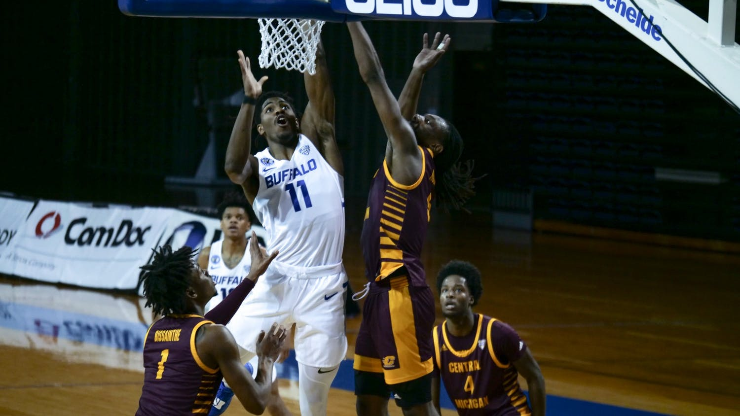 UB men's basketball beat Central Michigan 85-73 on Thursday.