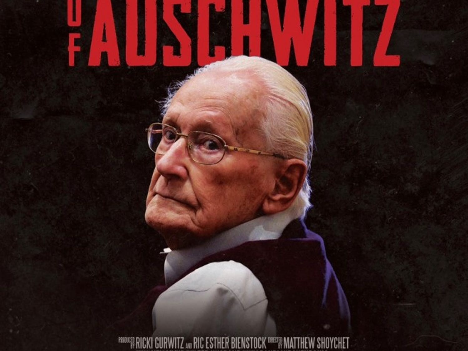 """Poster image from the documentary """"The Accountant of Auschwitz."""" The Buffalo International Jewish Film Festival is bringing critically acclaimed international films to Buffalo."""