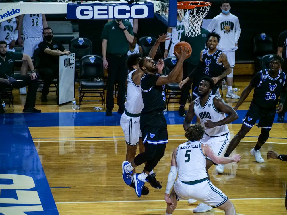 The Bulls' NCAA Tournament hopes were dashed in an 84-69 season-ending loss to Ohio in the MAC Championship Game at the Rocket Mortgage FieldHouse in Cleveland Saturday.
