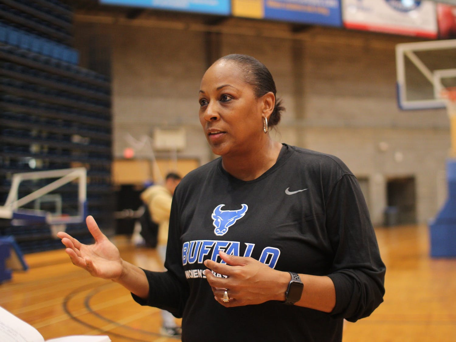 Felisha Legette-Jack, head coach of the UB's women's basketball team.