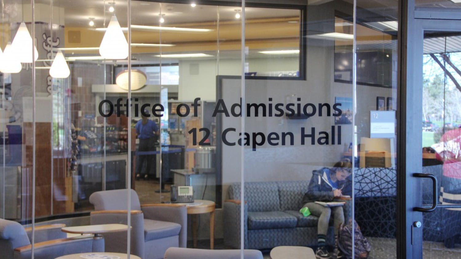 The Office of Admissions has had to do things differently during COVID.
