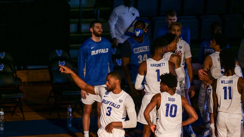 Freshman guard Chanse Robinson (not pictured) has left the men's basketball program, UB Athletics confirmed Sunday.