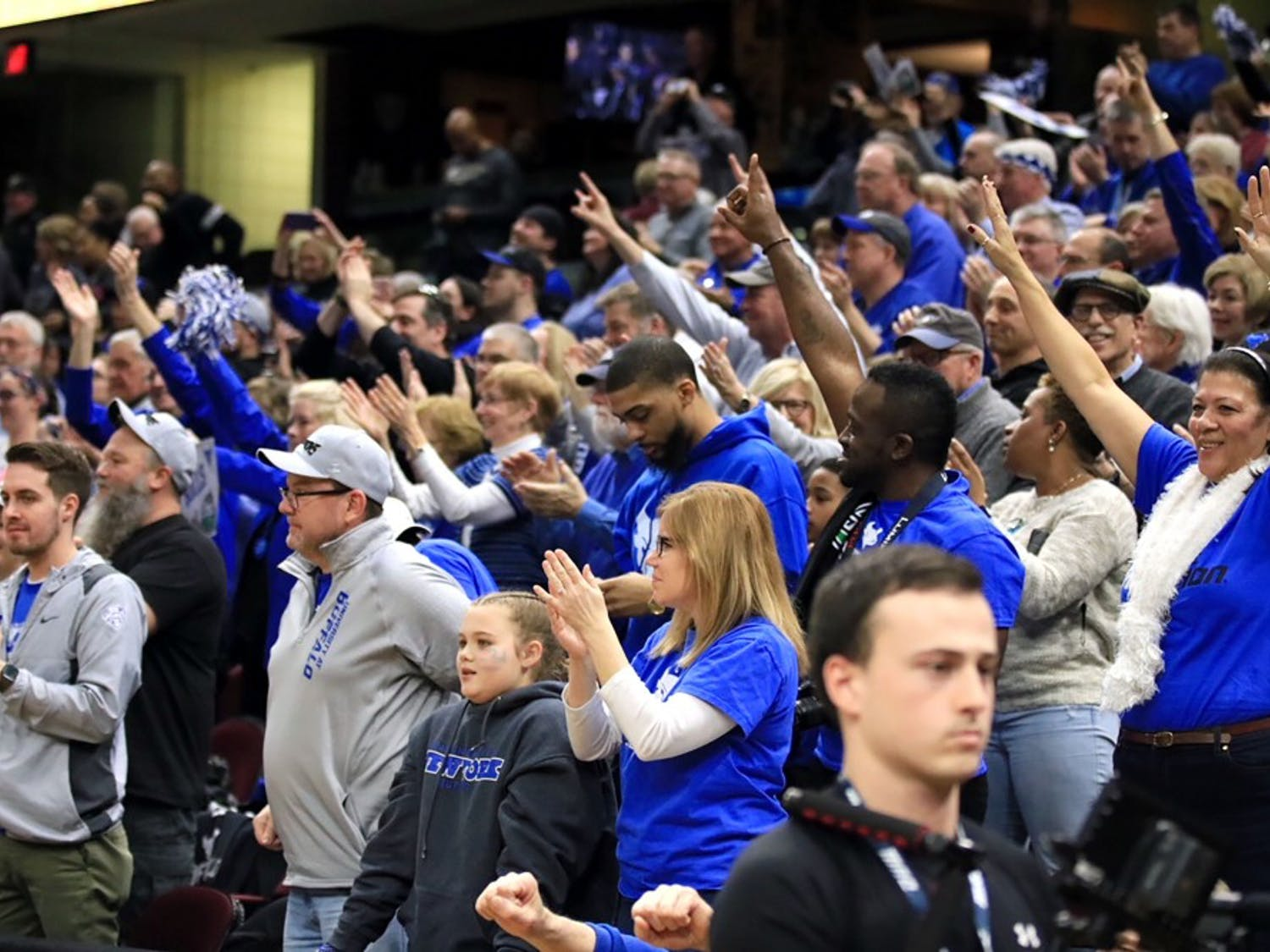 The Spectrum was live at the Mid-American Conference basketball championship tournament. Photos from both the men and women's games from the 2018 tournaments.
