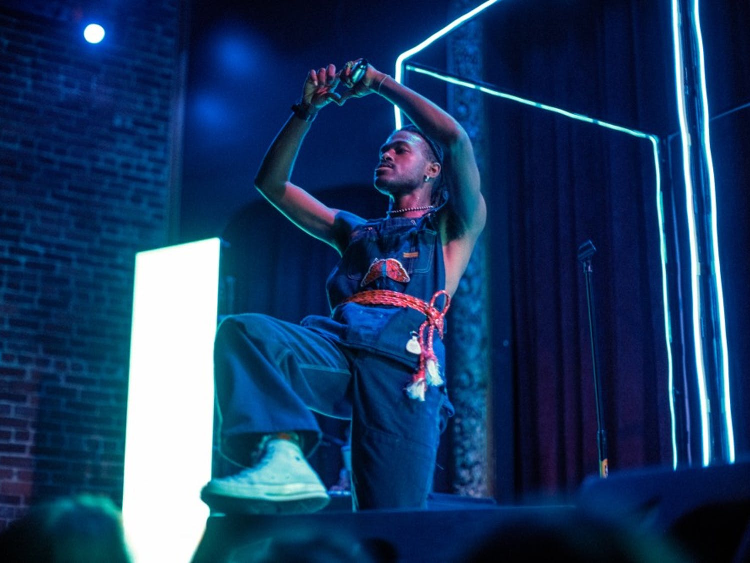 """Los Angeles rapper Duckwrth said he """"inevitably"""" gets his crowds moving. Duckwrth, who is currently on tour, talked with The Spectrum about his musical idols and the current state of hip-hop."""