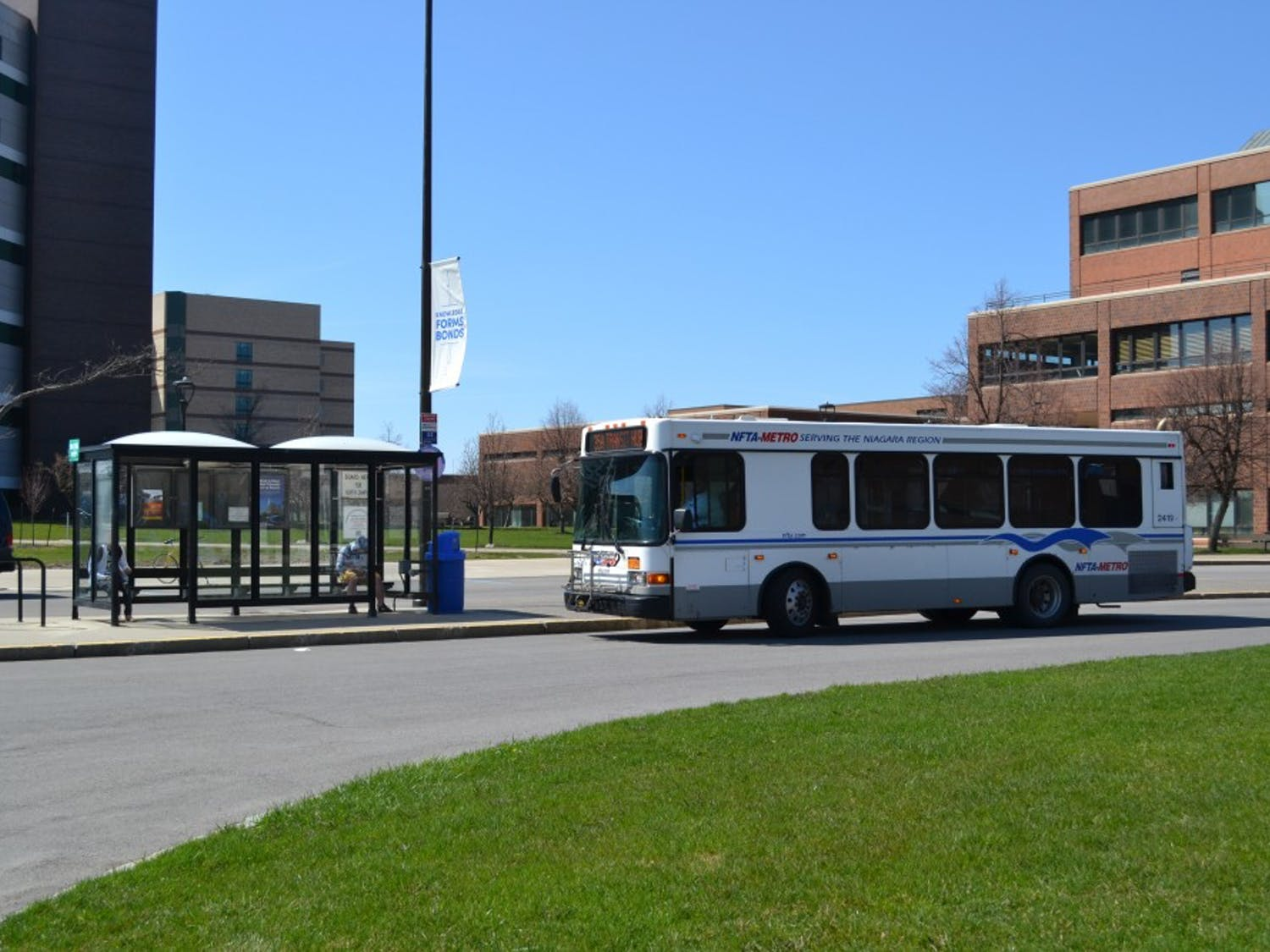 NFTA's CRAM pass would offer students unlimited rides on Buffalo buses and the train. The pass would cost students $50 a semester, according to Martin Martineck, NFTA superintendent of communications and advertising.