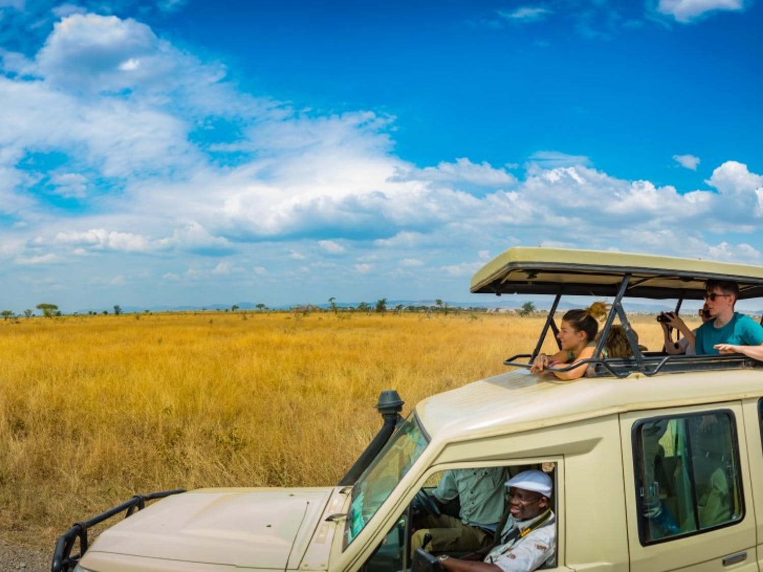 Students go on a safari during their study-abroad trip to Tanzania through UB. The Experiential Learning Network's Global Partner Studio is hosting their inaugural institute in October, a series of events that will promote global engagement and innovative ideas by the UB Community.