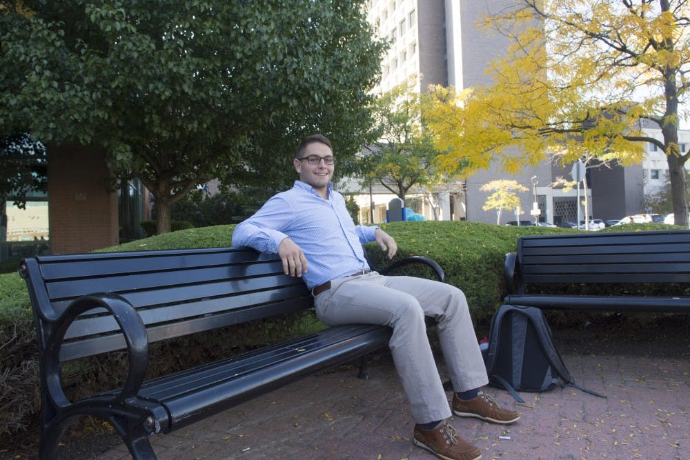 <p>Zachary Shapiro, a senior business administration major, chooses to attend his classes on Jewish holidays. Shapiro said he still wishes he could be with his family during the holidays.</p>