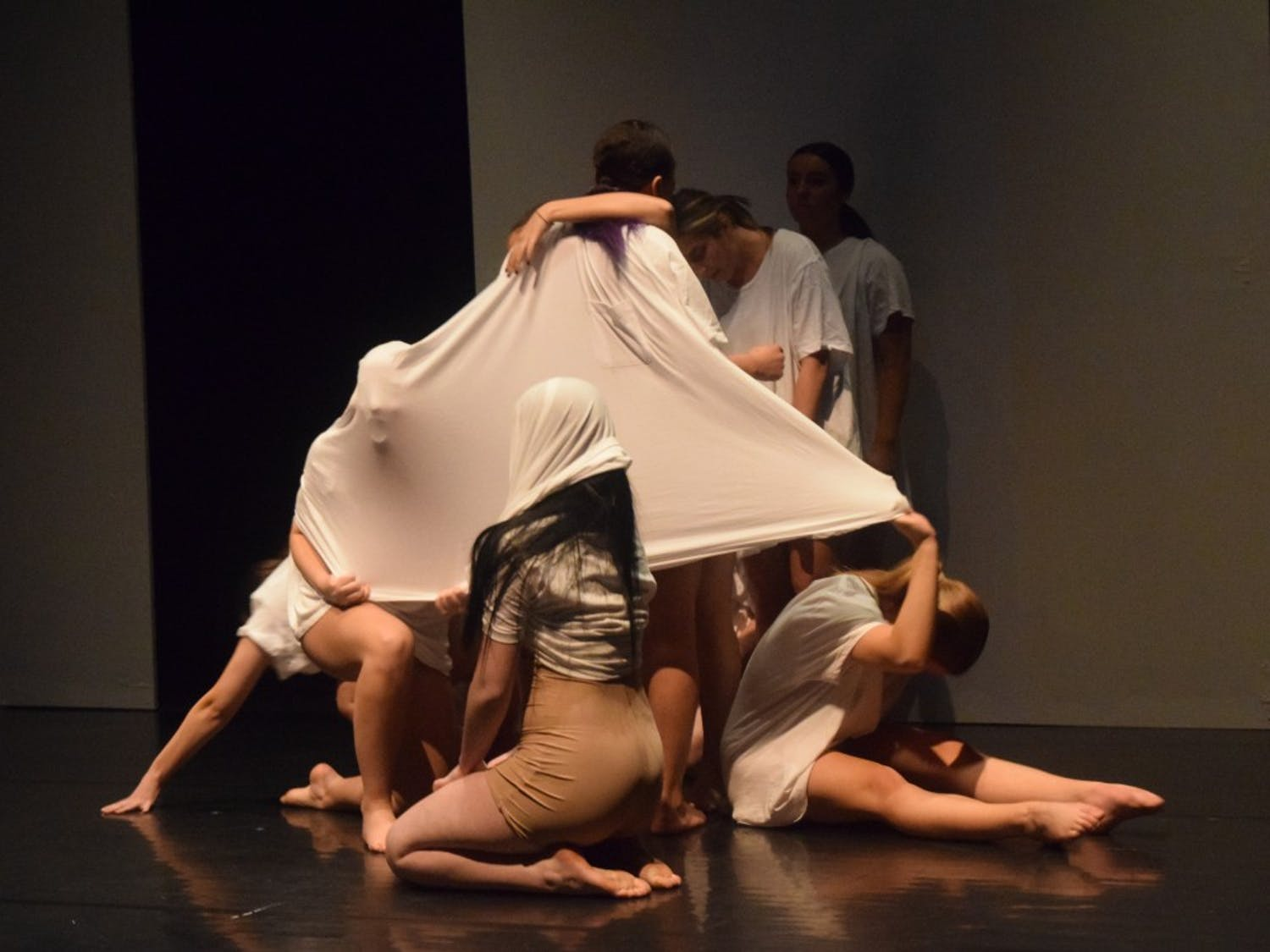 "ChoreoLab's performance titled ""POWER: the preservation of order"" had students, faculty and guest artists work together to bring new ideas and technology into the Theatre and Dance Department."