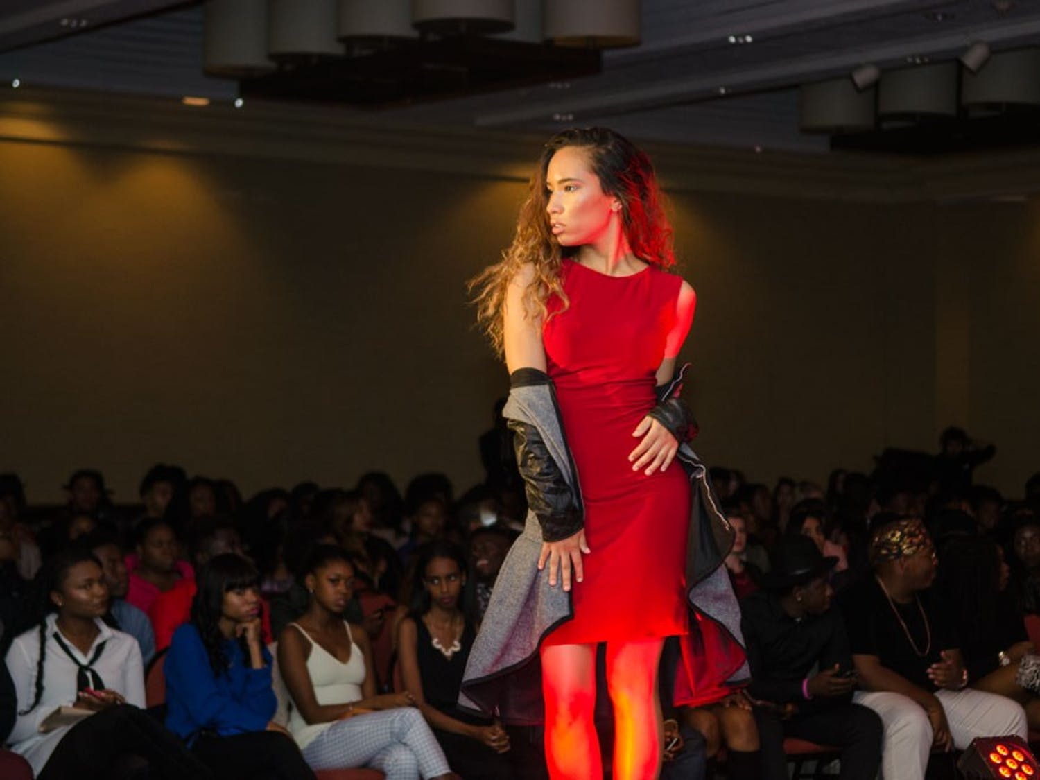ASA's fashion show featured varied brands and intense models.