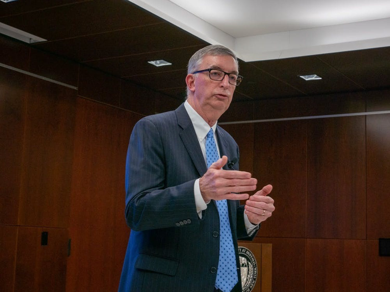 UB announced A. Scott Weber as its new provost Thursday.