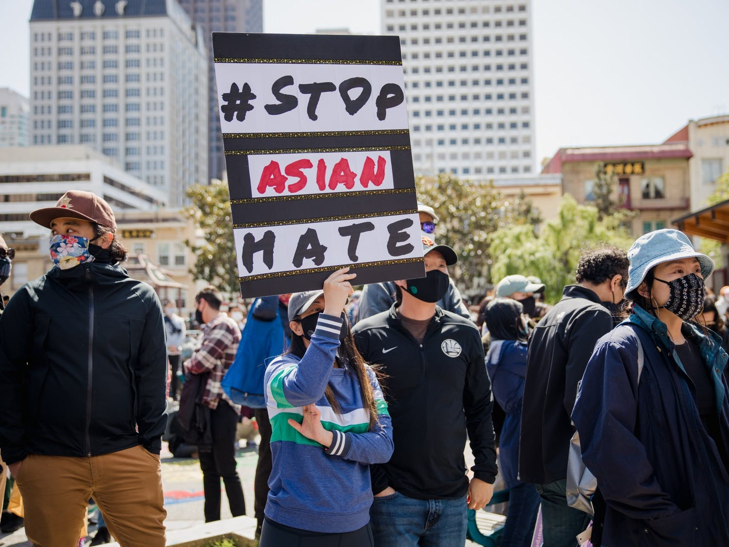 There were 3,800 anti-Asian hate crimes in 2020, according to Stop AAPI Hate.