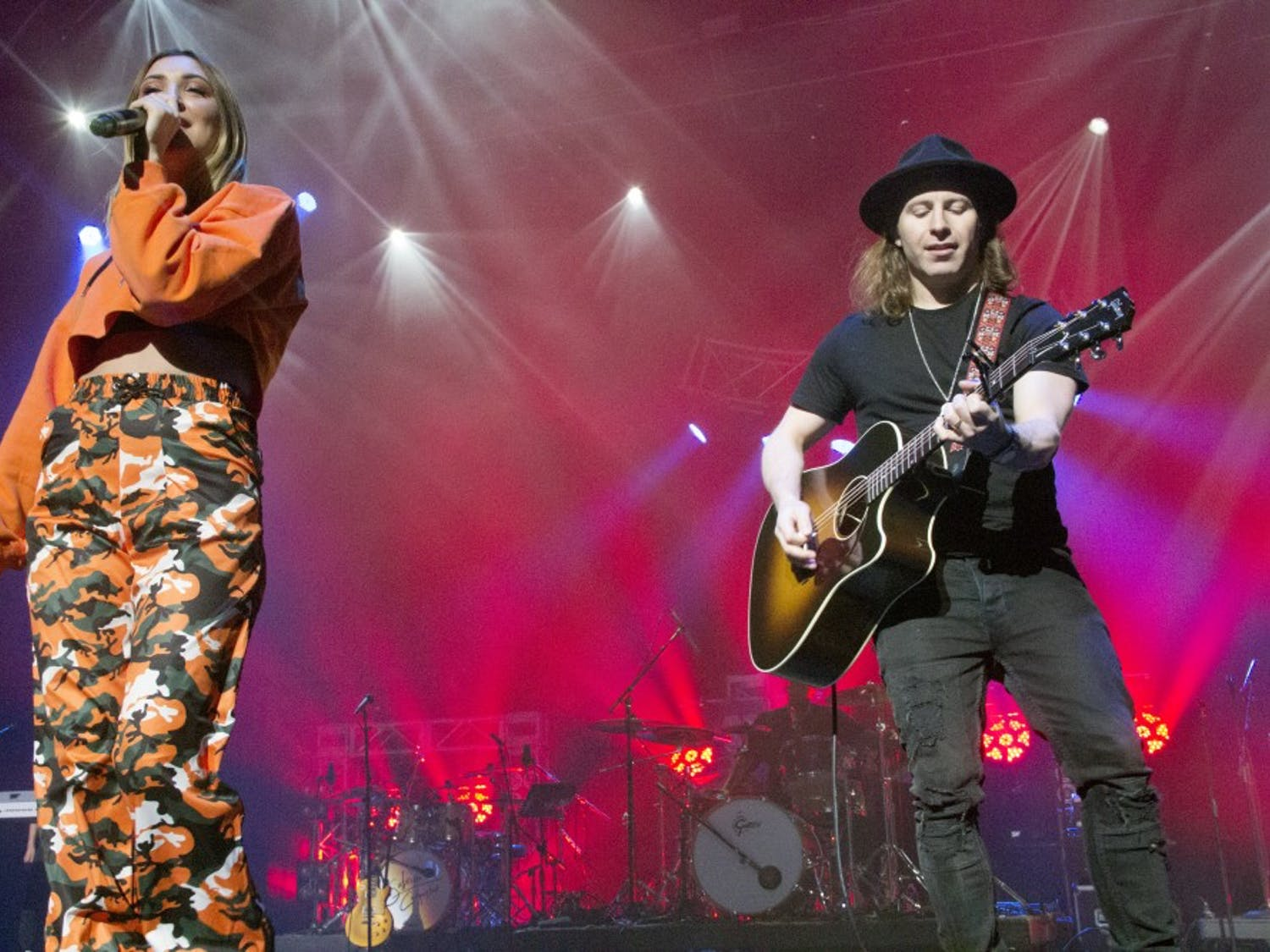 Songwriter-turned-superstar Julia Michaels kept the crowd inspired at KeyBank Center Saturday night. Michaels, Kesha, and other pop artists put on an exciting and diverse show during Kiss 98.5's annual Kissmas Bash concert.