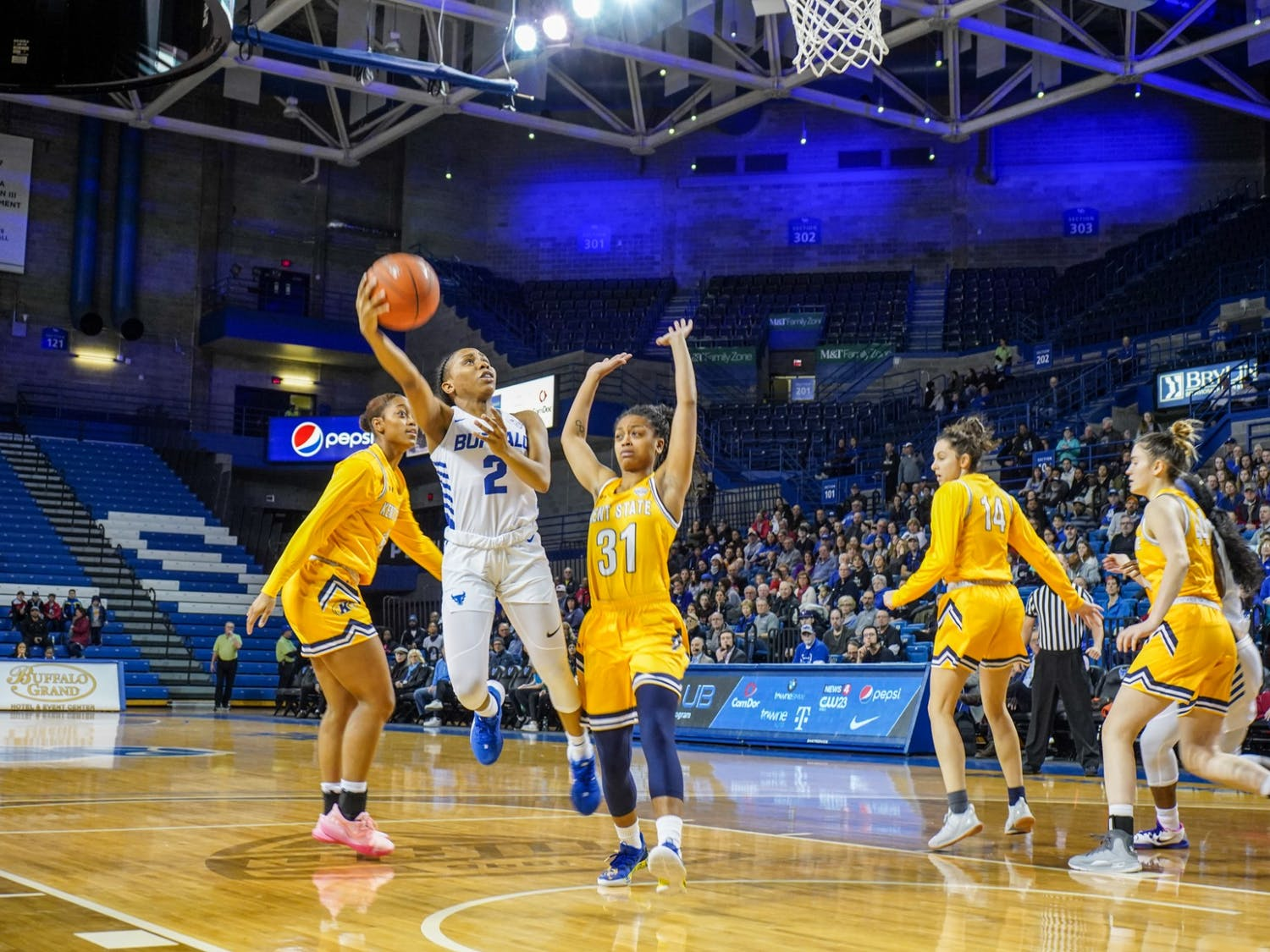 Sophomore guard Dyaisha Fair was named MAC Player of the Week for the fourth time this season.