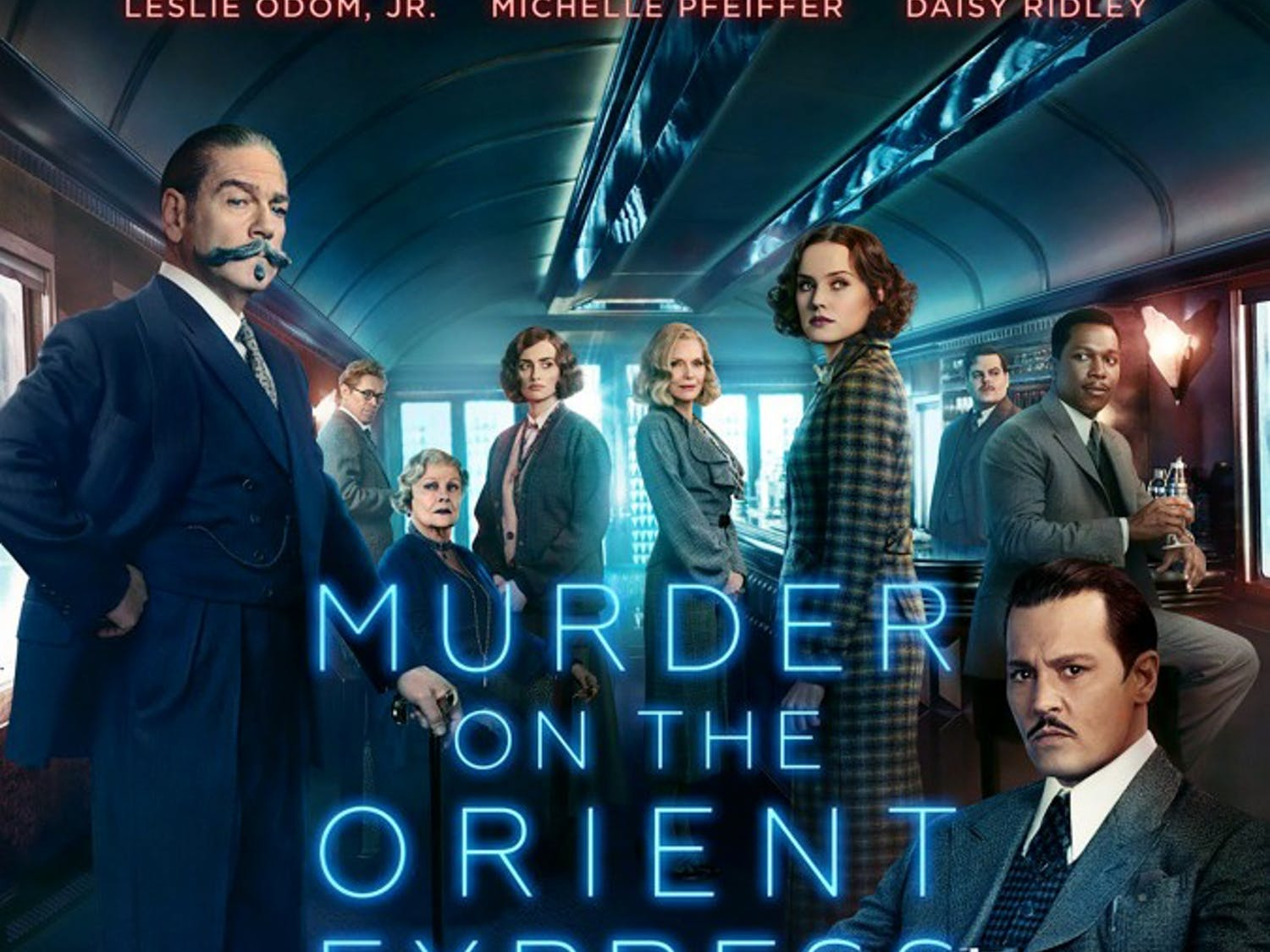 """""""Murder on the Orient Express,"""" directed by Kenneth Branagh, is an adaptation of Agatha Christie's novel and premieres Nov. 10. November will see the release of two of the year's biggest films: """"Thor: Ragnarok"""" and """"Justice League."""""""
