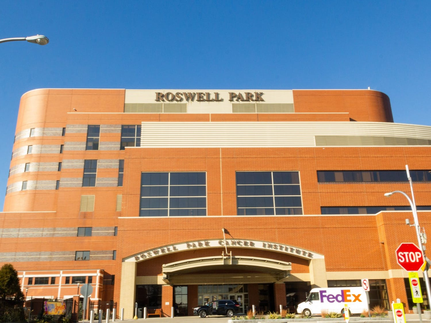 Roswell Park Cancer Institute, where the first patient in Buffalo received sarilumab treatment.