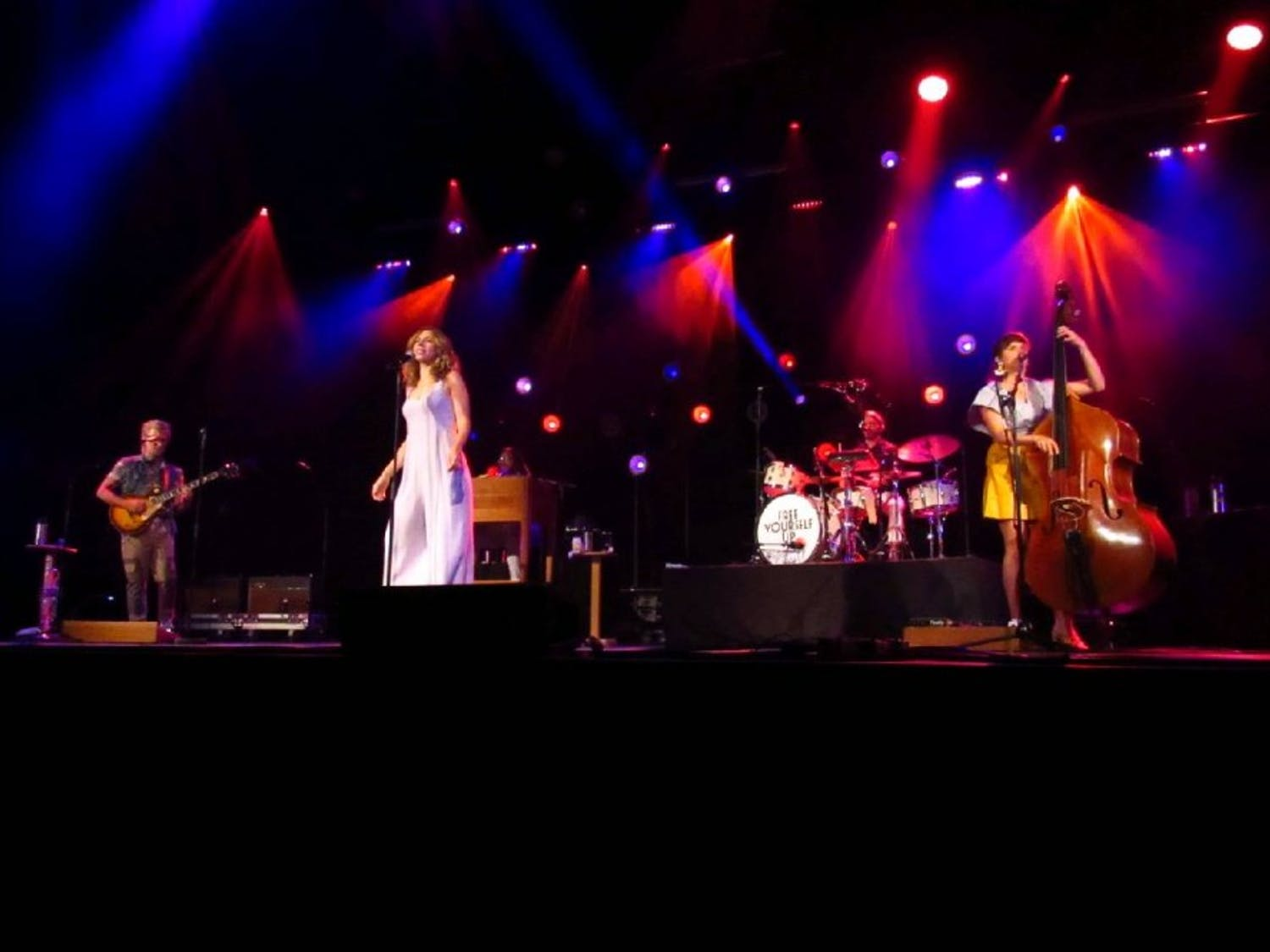 Lake Street Dive, a multi-genre band, played in front of a sold-out crowd in Rochester on Thursday. The band was just one of the headliners at this year's jazz festival in the city.
