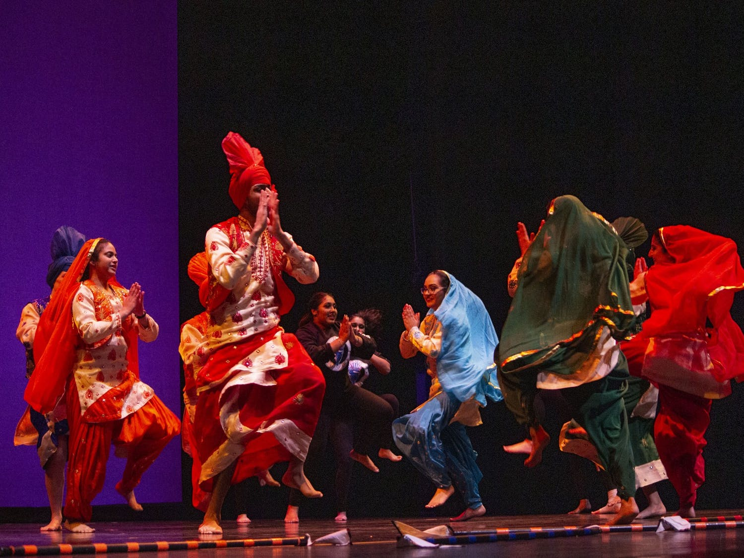 Buffalo Bhangra opened International Fiesta. This year's theme was 'resilience.'