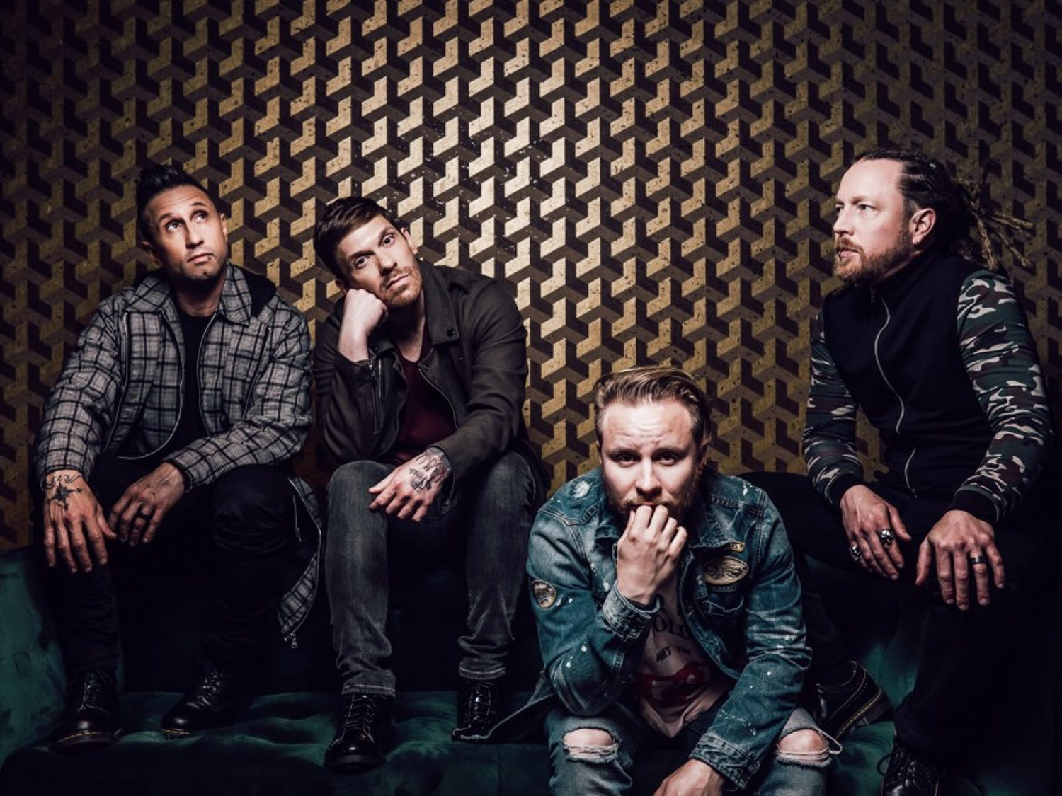 """Shinedown brings their """"Attention Attention World Tour"""" to KeyBank Center on Sept. 27."""