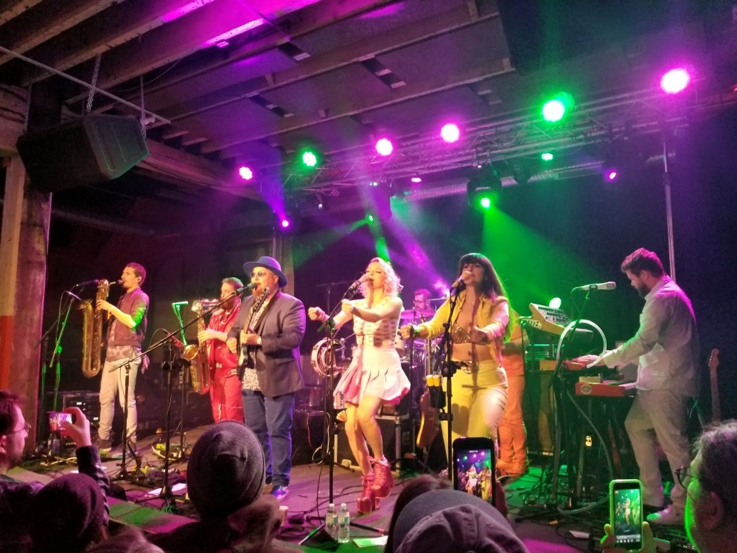 """Brooklyn funk rockers Turquaz took to downtown Buffalo on Tuesday night in a groovy performance. The band is currently on the road and recently released their single """"On The Run,"""" produced by Talking Heads member Jerry Harrison."""