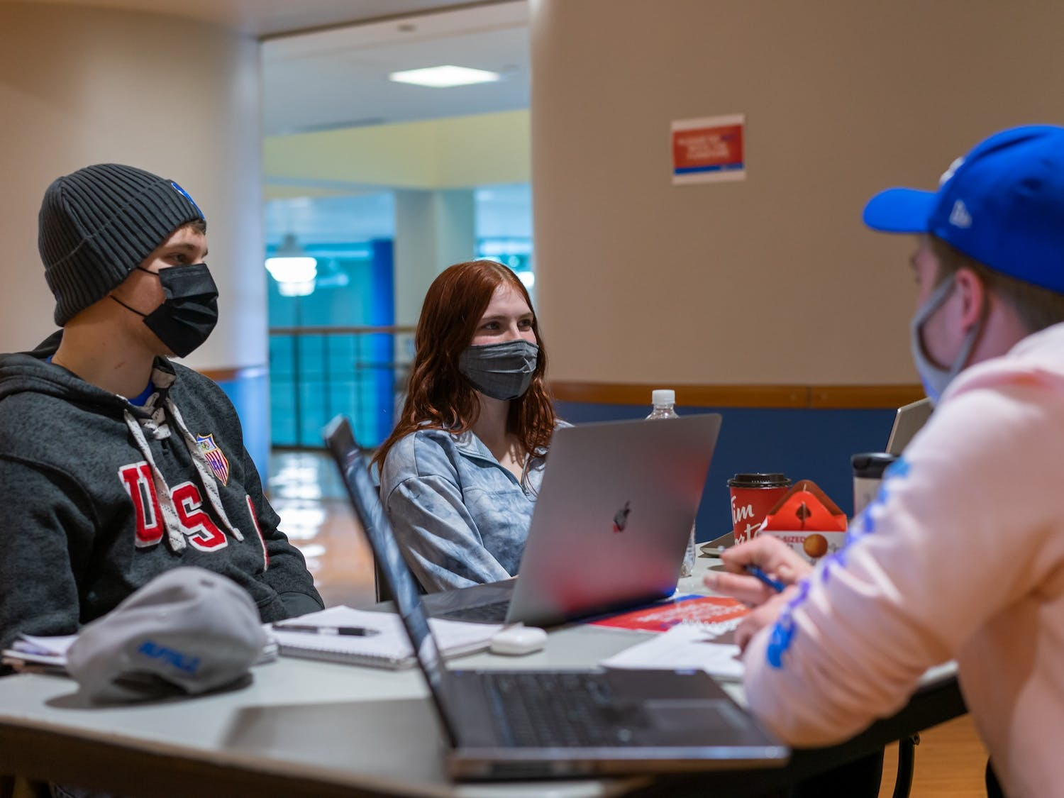 Students, faculty and staff — regardless of vaccination status — will be required to wear face masks inside all campus buildings this fall.