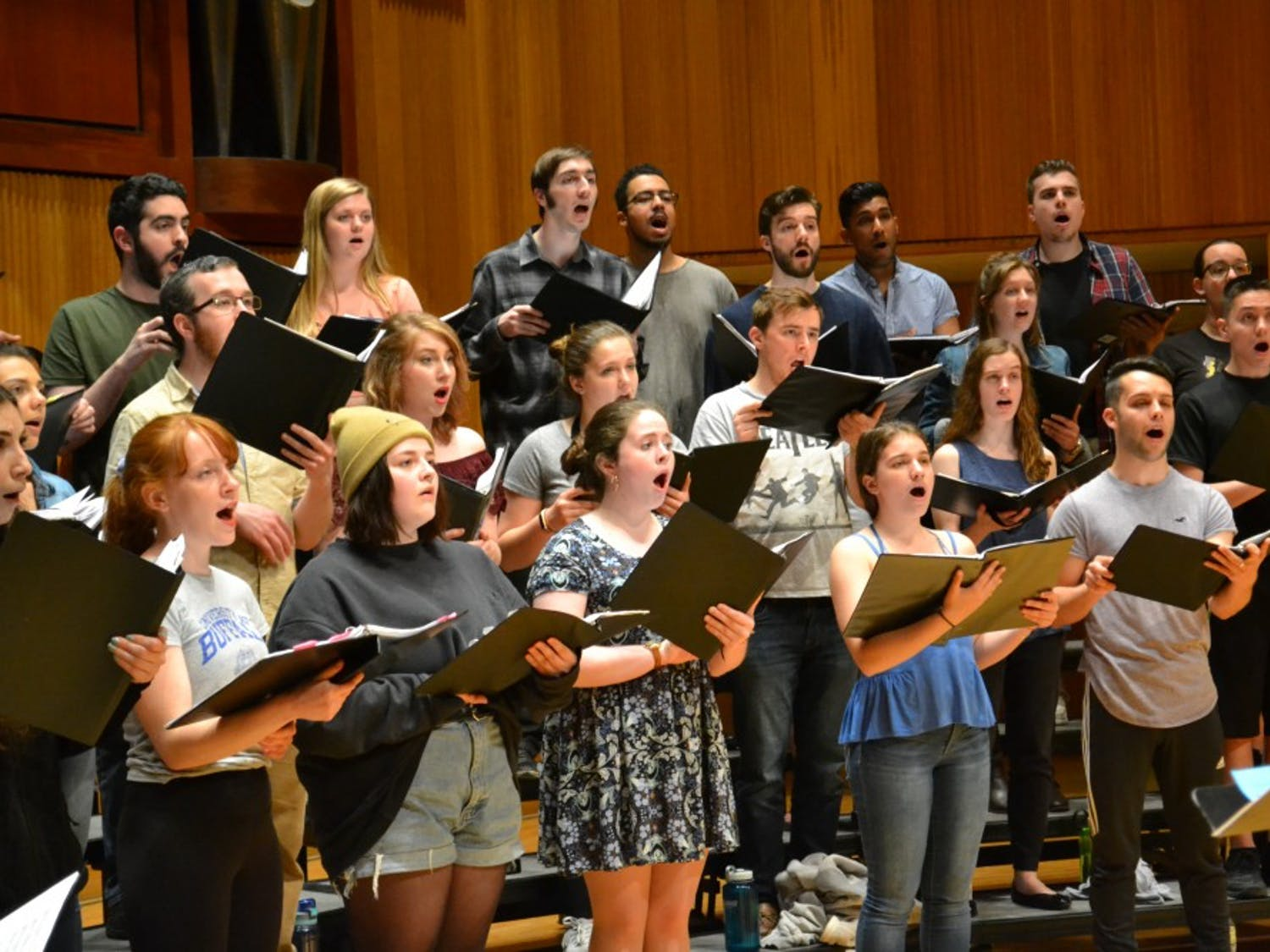 """UB Chorus and UB Choir will be taking to Slee Hall on May 11 for """"Stars,"""" a celebration of the night sky with music and poetry."""