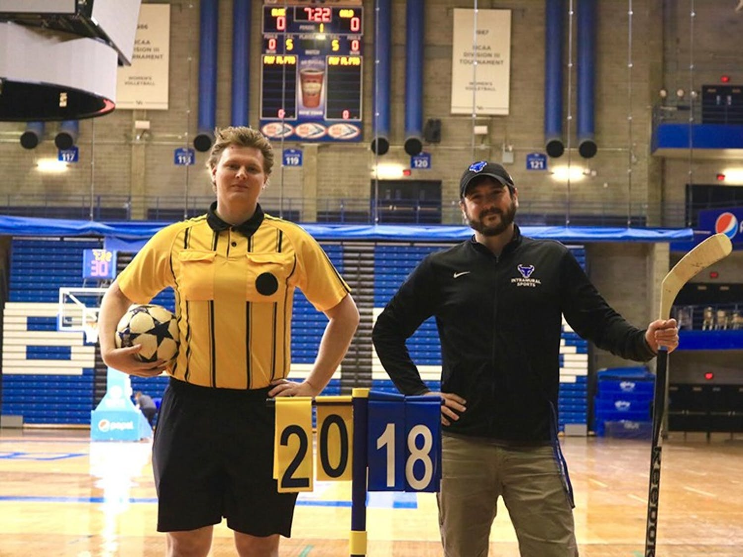 Chris McClure, assistant director of Intramural and Sports program, is striving to improve the program by recruiting players and offering more athletics and sporting events to students across campus.