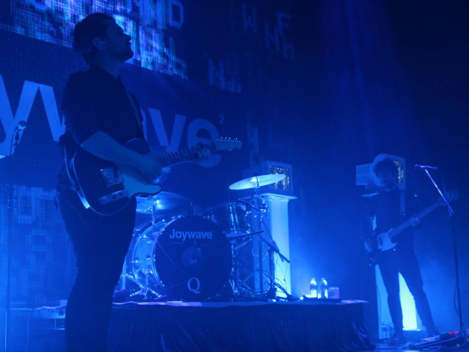 Indie rock band Joywave performed at Town Ballroom Wednesday night with interesting television props, high energy and entertaining openers.