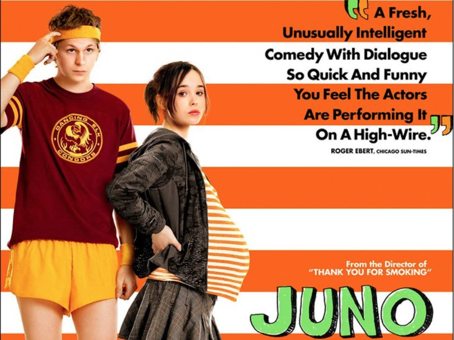 """Juno and Paulie from the indie hit """"Juno"""" are a perfect couples costume for Halloweekend."""