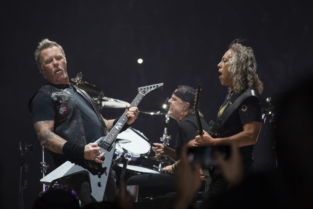 Metallica chases the lightning at the KeyBank Center - The