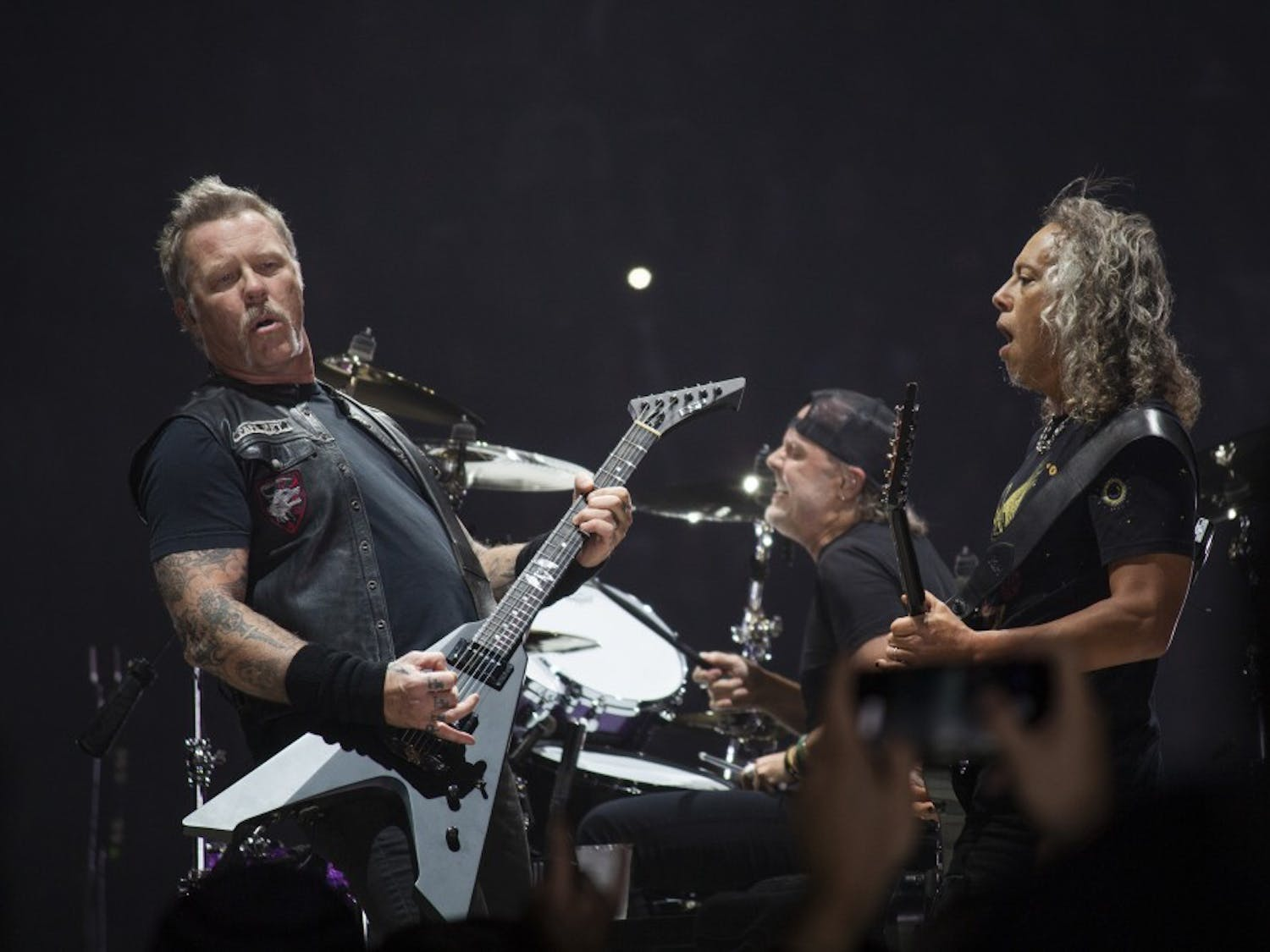 """Metallica found a home at the KeyBank Center on Saturday night. Hardcore fans and newcomers rejoiced over a nearly three-hour set featuring cuts from """"Hardwired...To Self Destruct"""" as well as concert staples like """"One"""" and """"Seek and Destroy."""""""