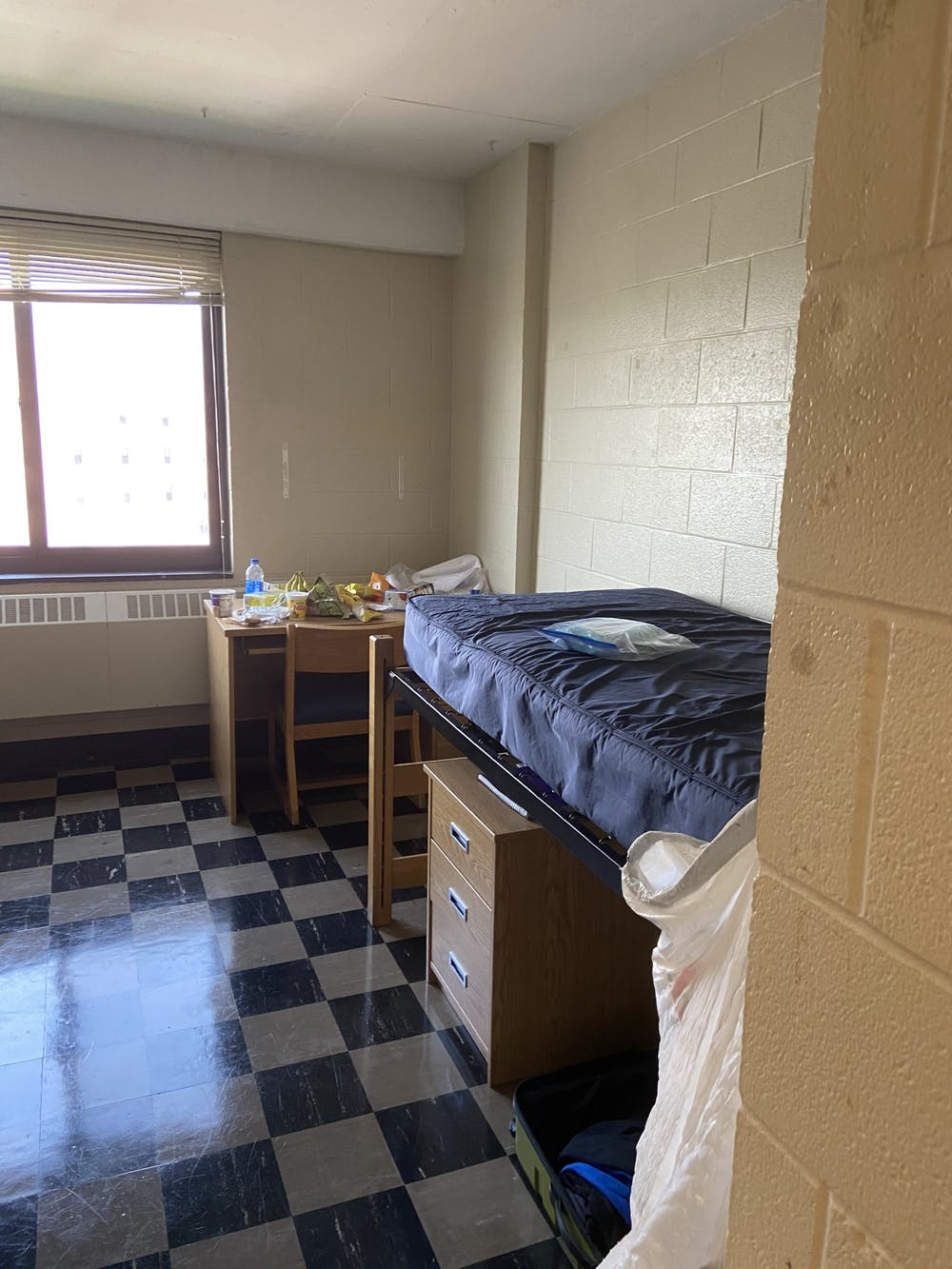 Thomas insists that UB is not being honest with students about the conditions inside the dorms and that no one is checking on quarantined students.