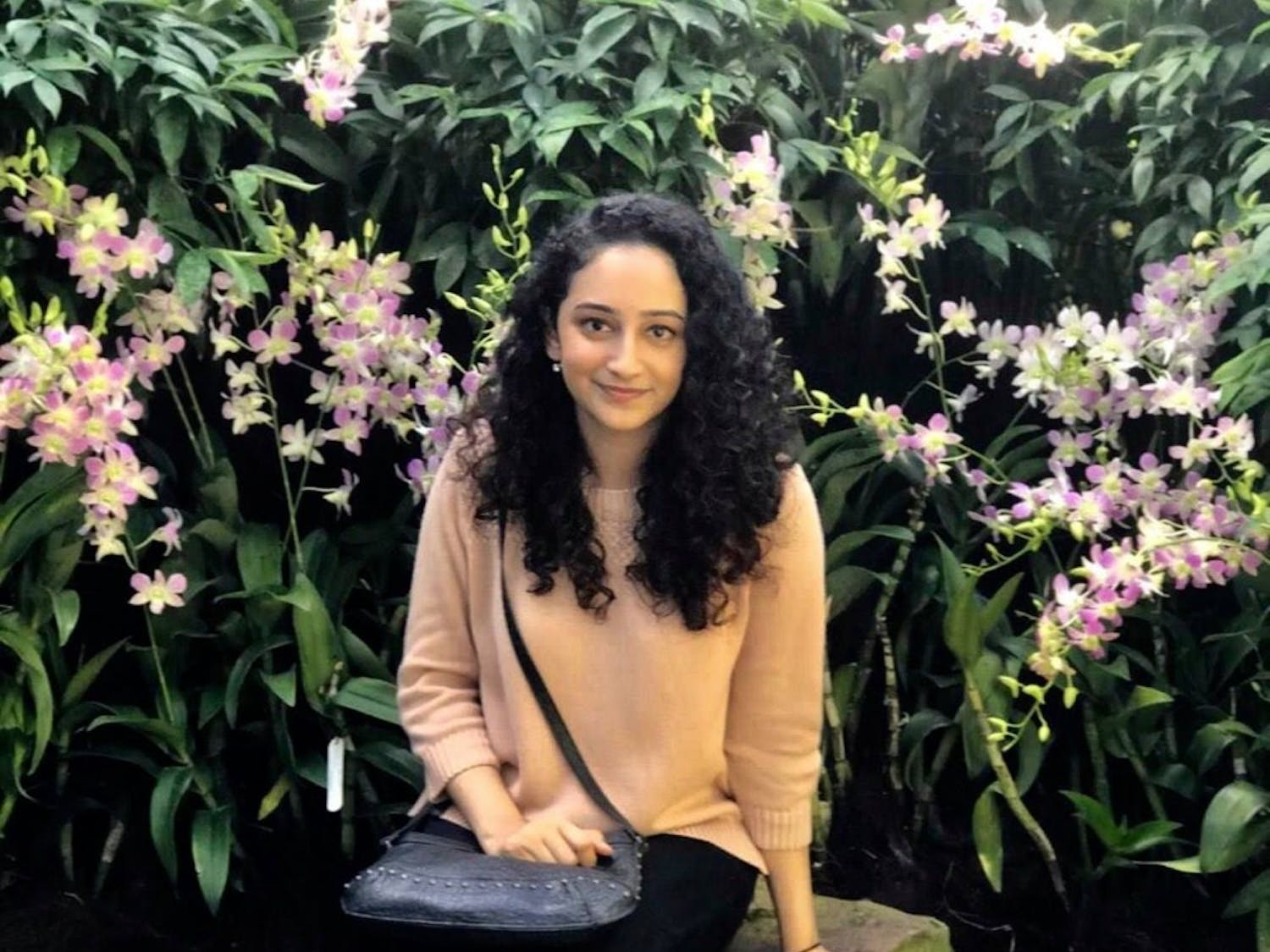 Renuka Ramanadhan, a business administration major, is currently recovering in the hospital after being hit by a car outside her Hadley Village apartment.
