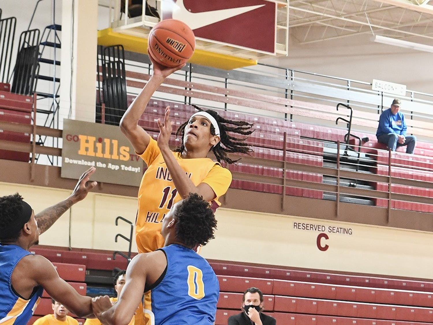 Due to a blanket waiver passed by the NJCAA in the fall in response to the COVID-19 pandemic, Curtis Jones will still have four years of eligibility remaining starting next season.