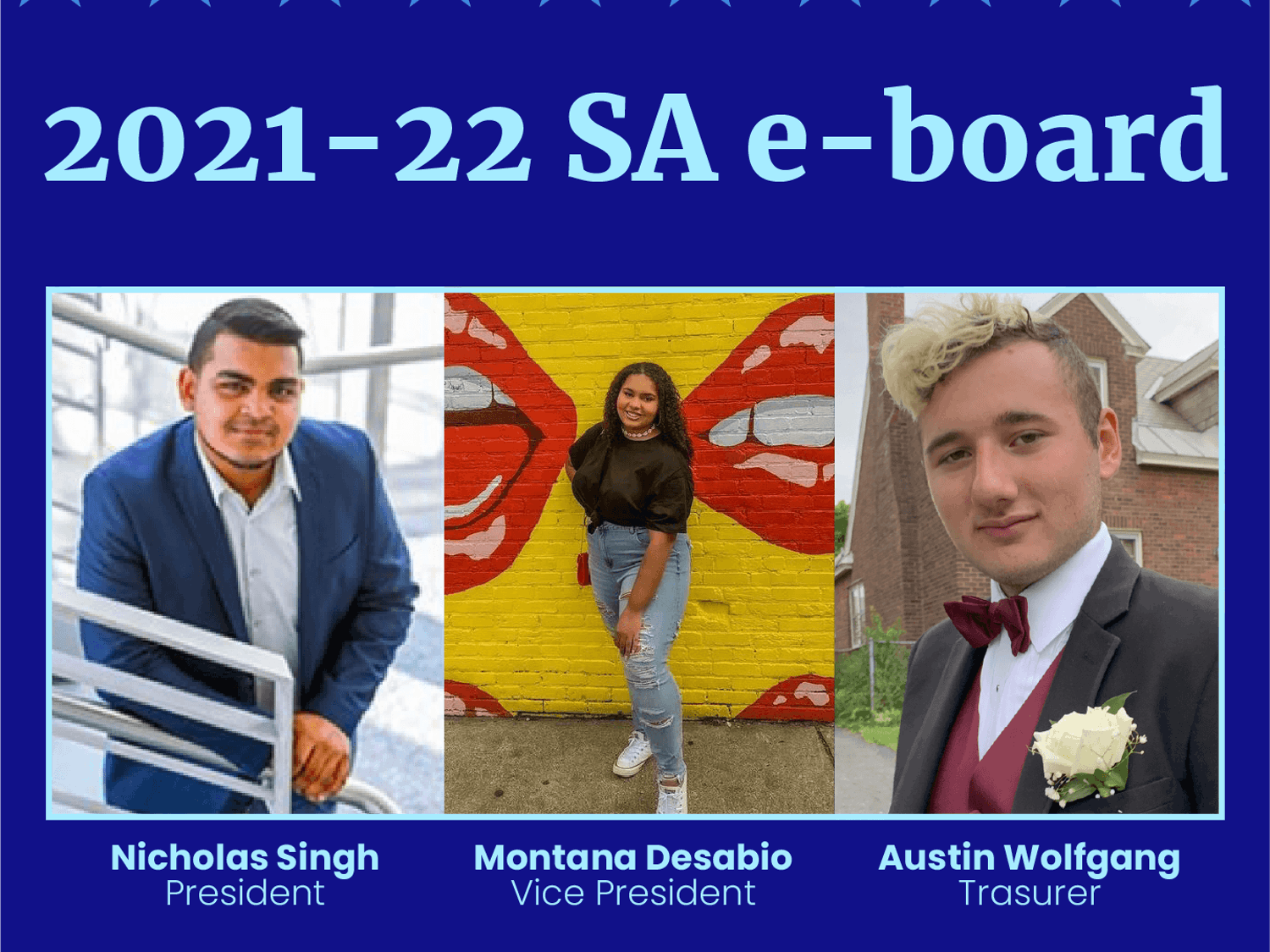 Montana Desabio won the only contested race for SA e-board and students chose to make the student activity fee mandatory during a three-day election that ended Friday.
