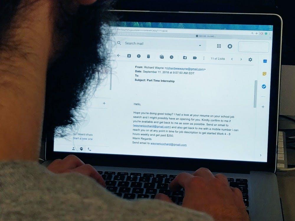 UBIT reports increase in scam emails - The Spectrum