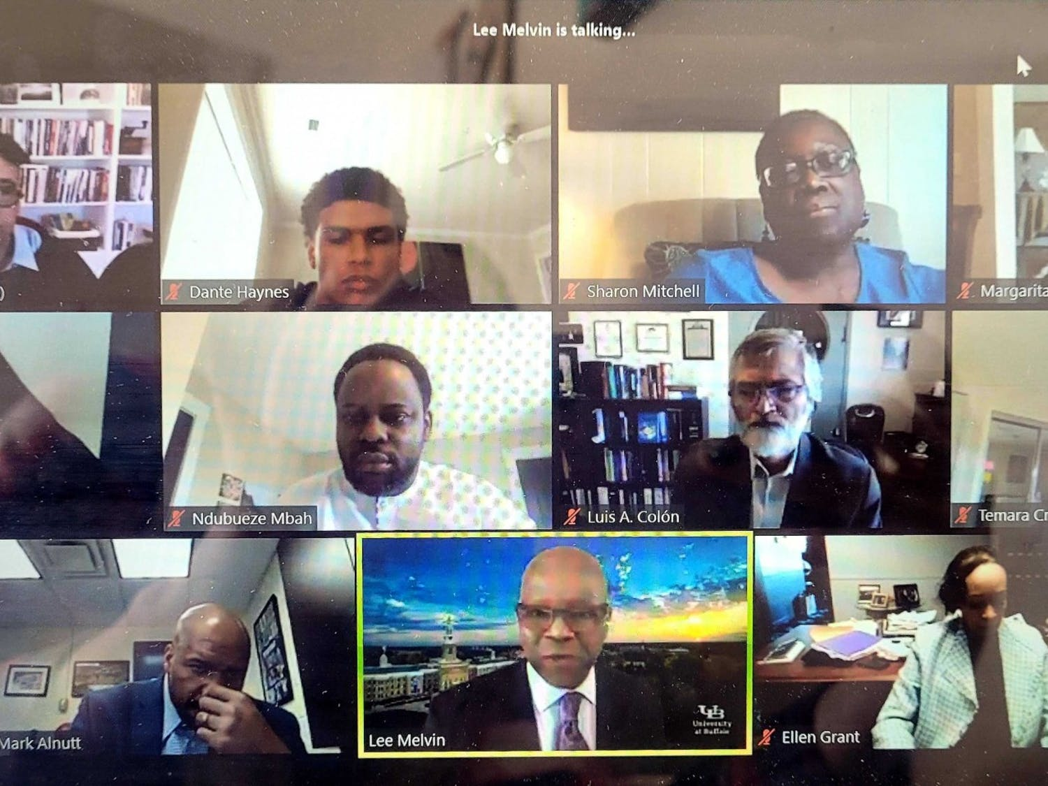 The UB President's Advisory Council on Race held its first virtual public forum on Monday, drawing a crown of 500 students, faculty and and alumni.