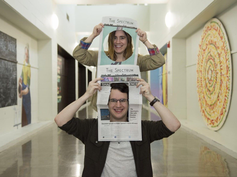 Assistant Creative Director Martina LaVallo (top) and Creative Director Pierce Strudler (bottom)